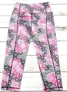 Womens Victoria secret capri leggings sz med K10